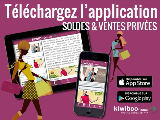 Application ventes privee