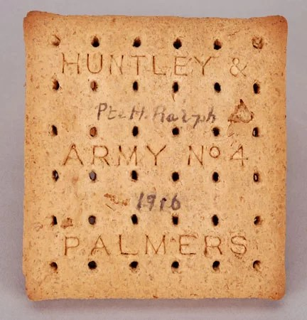 Army No 4 ration biscuit - World War 1