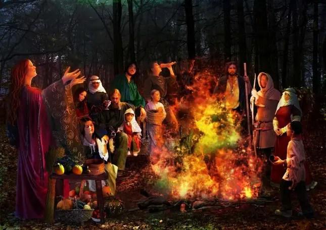 celtic samhain halloween