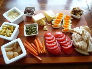 Family Antipasto lunch