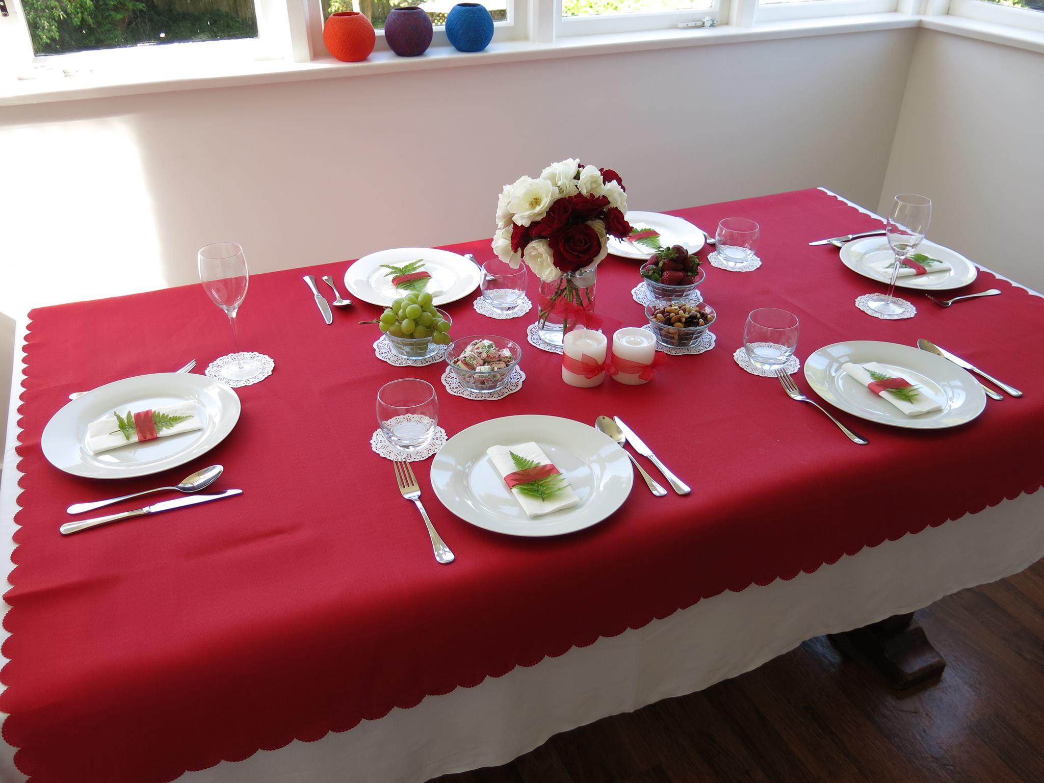 Kiwi christmas table decorations for Decoration kiwi