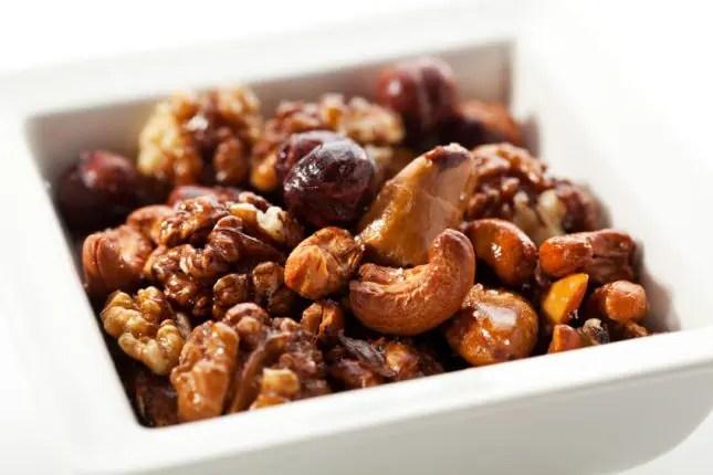 mixed roast nuts