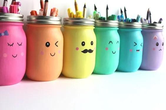 mason jar inspired storage