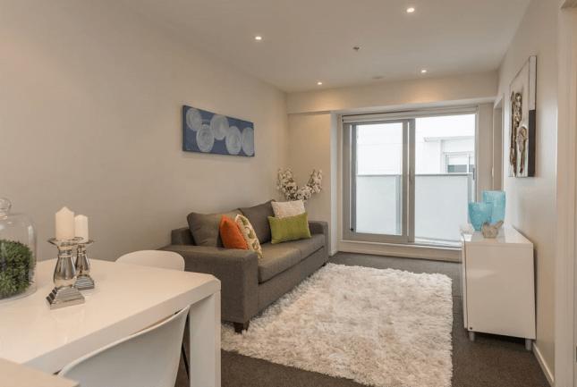 Wellington central city apartment