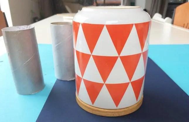 toilet roll jar