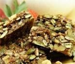 Healthy nut-free muesli bars
