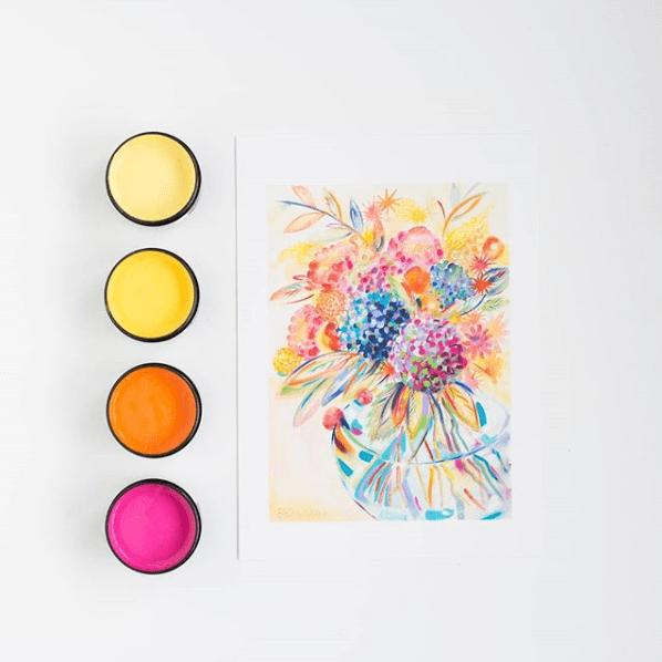 resene colour flowers