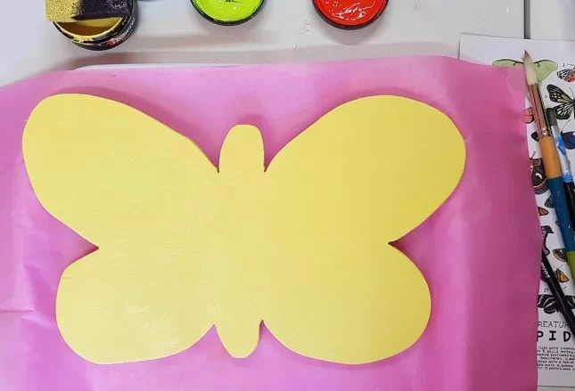 butterfly project yellow