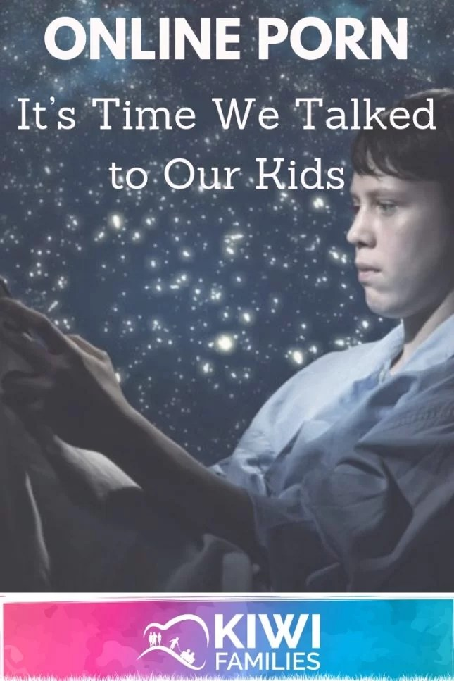 Online Porn It's Time We Talked to Our Kids-Pin