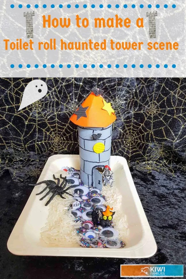Toilet roll haunted tower