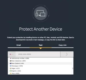 Protect another device-Norton Security