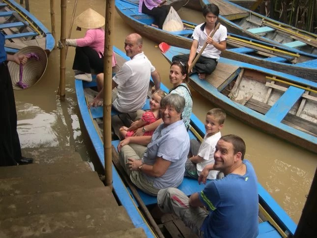 Travelling with Grandparents - Mekong Delta