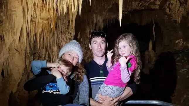 Ruakura cave family