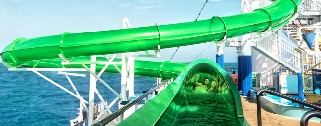 Carnival Cruise-water slide