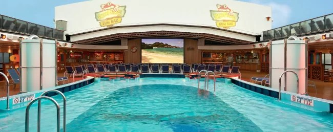Carnival Cruise Ships-Dive-in Movies