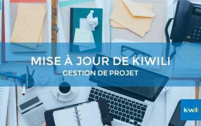 Mise à jour Kiwili : Faites-en plus avec notre outil de gestion de projet