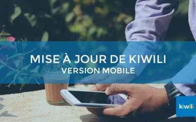 Mise à jour Kiwili : une version optimisée pour mobile