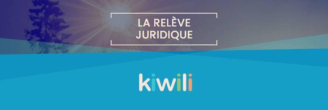 Nouveau partenariat : Kiwili fait un don de 24 000 $ à la Relève Juridique