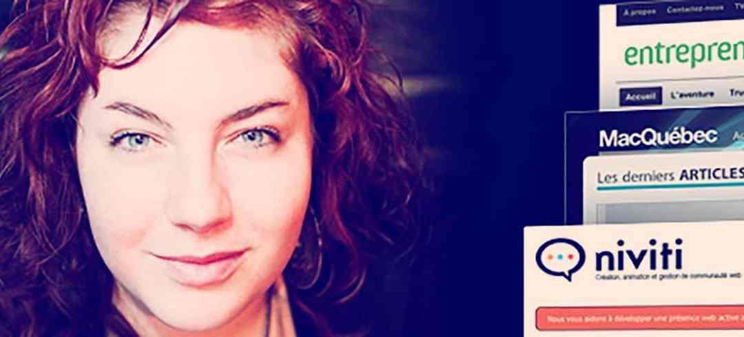 Portrait d'entrepreneur : Kim Auclair – Création, animation et gestion de communauté Web