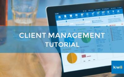 Managing Your Clients and Providers With Kiwili's CRM