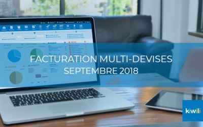 Nouveautés de septembre 2018 : Lancement de la facturation multi-devises