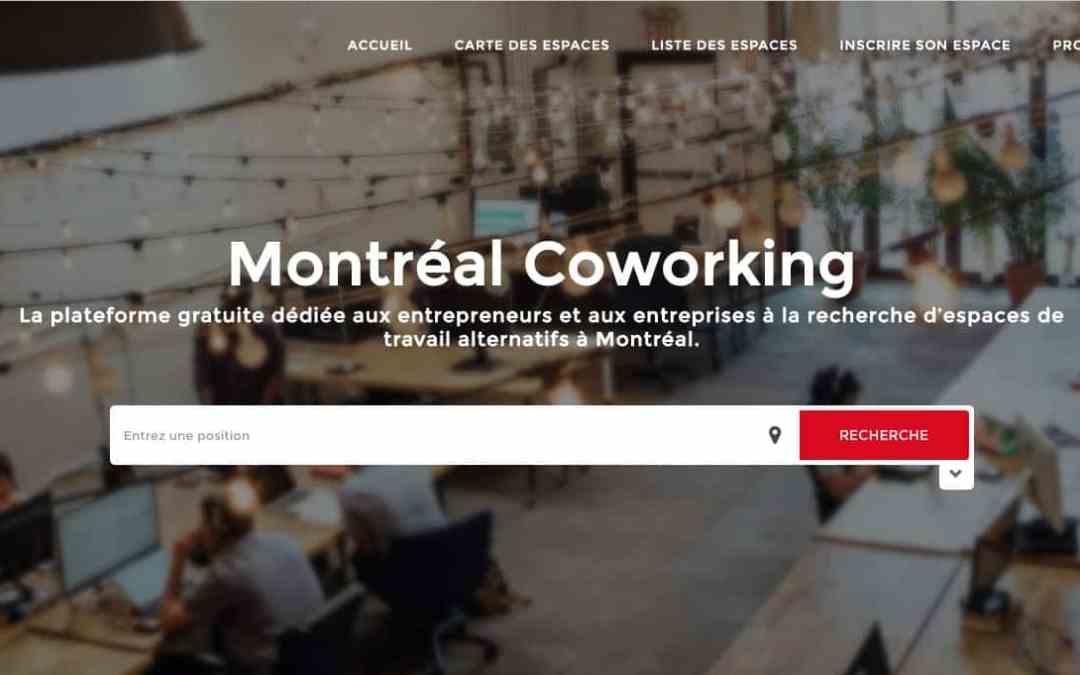 Montréal Coworking, nouveau service gratuit pour les entrepreneurs