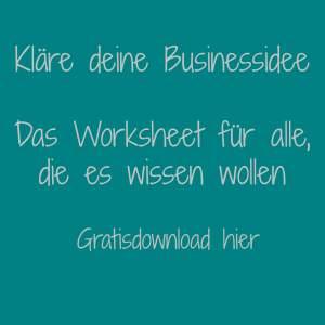 Worksheet-Businessidee