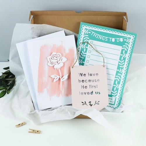 Floral Card Gift set