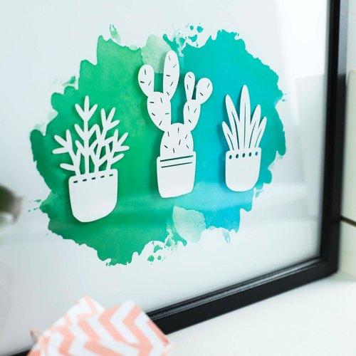 3D Plant Trio