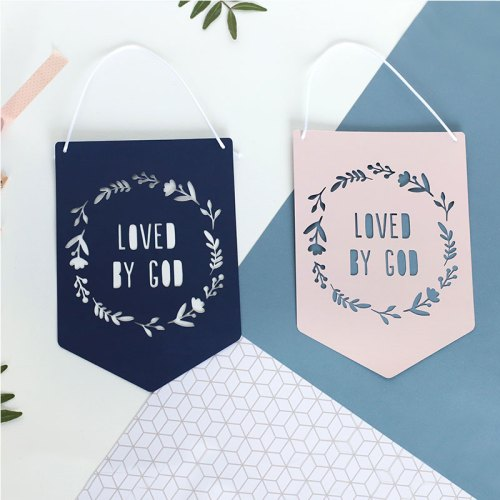 Loved by God Papercut Flag
