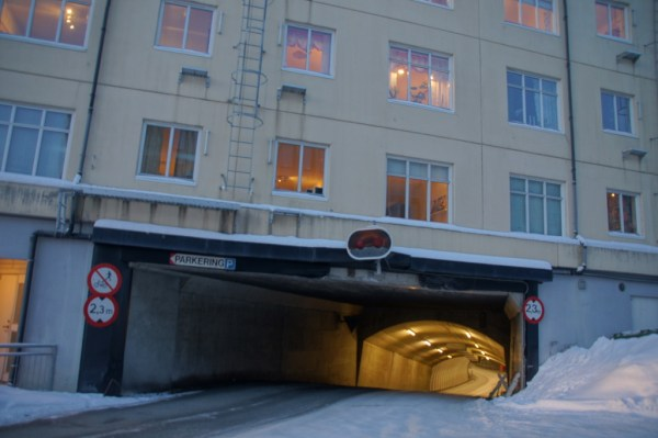 Entrance Tromso Tunnels