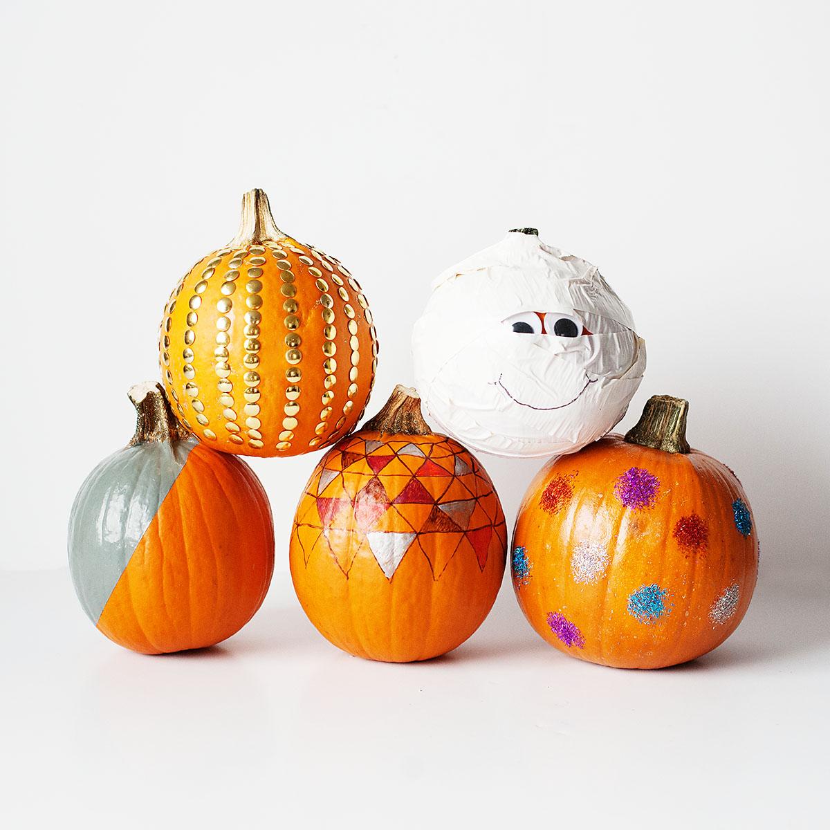 5 Non Carving Pumpkin Decorating Ideas Kix Cereal