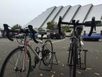 エムウェーブと自転車