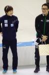 小平奈緒選手と加藤条治選手