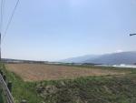 甲斐駒ヶ岳と富士山