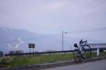ロードバイクと富士見パノラマ