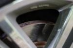 交換前のフロントディスクローター