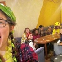 Jugend organisierte Jungschar-Fasching!