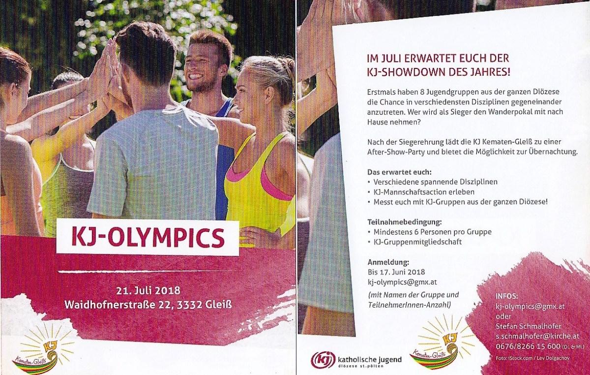 KJ-Olympics in der Pfarre Gleiß