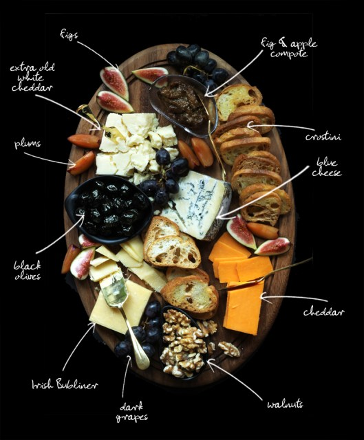 Cheese Platter Ideas Labels Grocery List How To Prepare a Cheese Board Olives Crackers Meat Figs Delicious Snack Appetizer