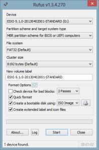 kjc Rufus v1.3.4 VMware ESXi - kjc - Rufus v1.3.4 - VMware ESXi