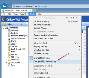 kjc IE 10 Compatibility View settings - kjc - IE 10 Compatibility View settings