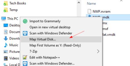 Windows map virtual disk - windows-map-virtual-disk