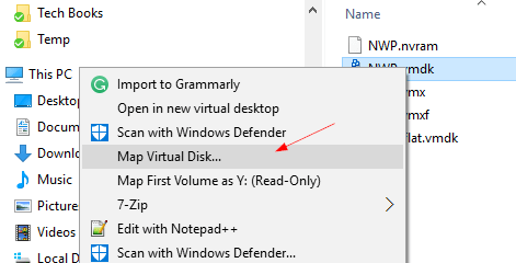 Windows map virtual disk - 4 Ways to Mount a VMDK Image File in Windows