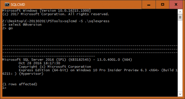 SQLCMD 600x324 - What Version and Edition of SQL Server I am Running on the Server