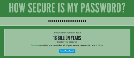 How Secure Is My Password  - How Secure Is My Password_