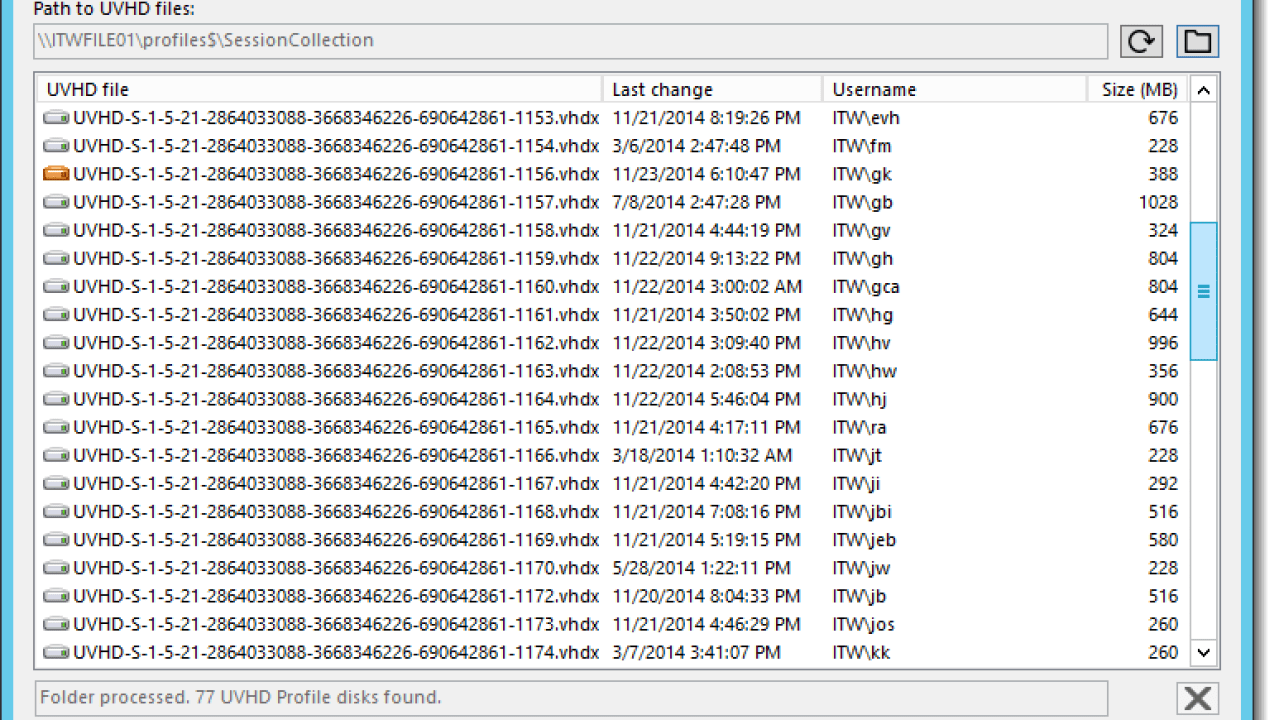 How To Tell Which User Profile Disk UPD Belongs to Which AD User