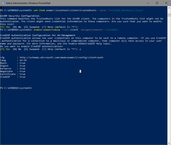 Select Administrator  Windows PowerShell 2018 01 18 14 04 10 600x511 - Managing Hyper-V Host from Windows 10 Outside Domain