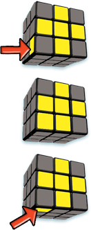 Rubiks Cube Step 4 face states - 5-Step to Solve A 3x3 Rubik's Cube