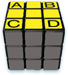 Rubiks Cube Step 5 1 abcd - 5-Step to Solve A 3x3 Rubik's Cube
